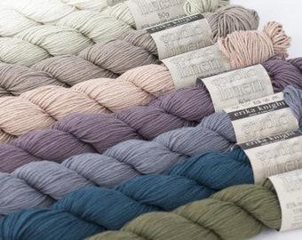 Studio Linen Linen Yarn, Viscose, Vegan, Natural, Sustainable, Erika Knight, Ladies, Knitting, Crochet, Sweater, Jacket, Top, Instructions,