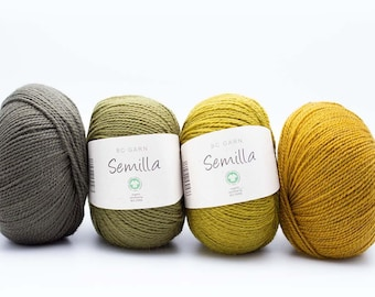 BC Semilla GOTS, 100% organic virgin wool, mulesing-free, fairtrade, eco, sustainable, knitting, babies, kids, loops, hats, scarves, sweaters