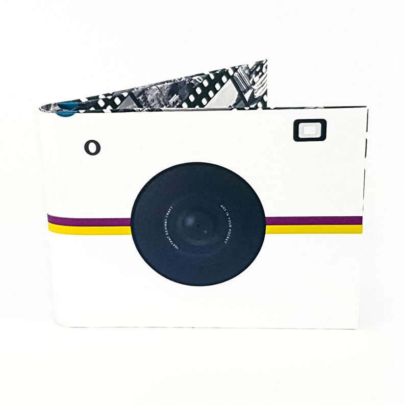 Gift for her Men Wallet Paper Wallet Camera Wallet Gift for him Slim Wallet Wallet Women Valentines Day gift Camera Accessories