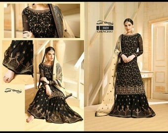 594e2c2c1e2 Indian Traditional Indo Western Dress semi stitched