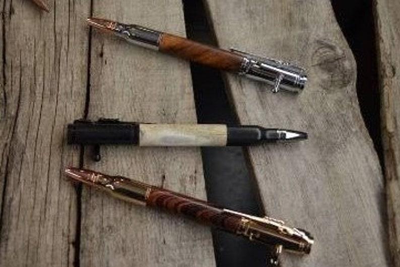 Gift for Men Bolt Action Bullet Pen Birthday gift for Men Anniversay Gift for Men Rifle Pen 30 Caliber Bolt Action Gun Pen