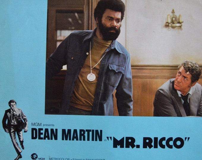 Mr Ricco (1975). Original Lobbycard from the U.S. premiere.