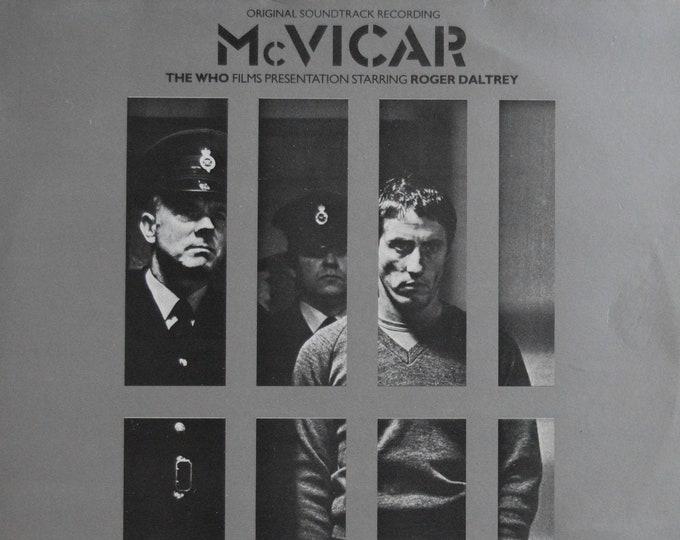 McVicar (1980) with Roger Daltrey, Original Soundtrack LP + 5 lobby cards