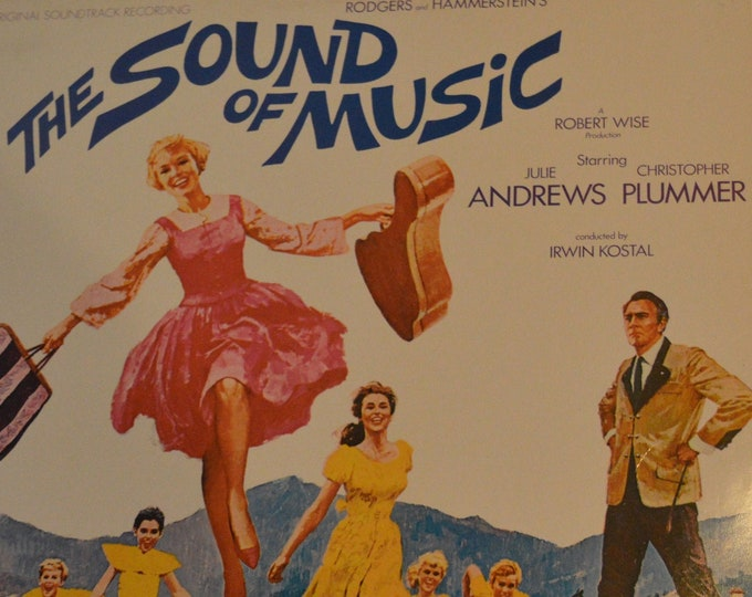 """The sound of music,(1965) vinyl record from the original soundtrack, 12"""" vinyl LP."""