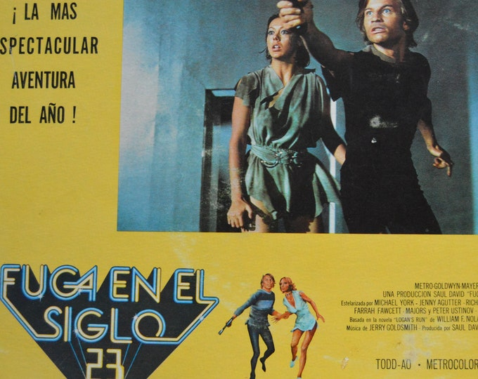 Logan's Run. (1976) Original American-Mexican lobby card.