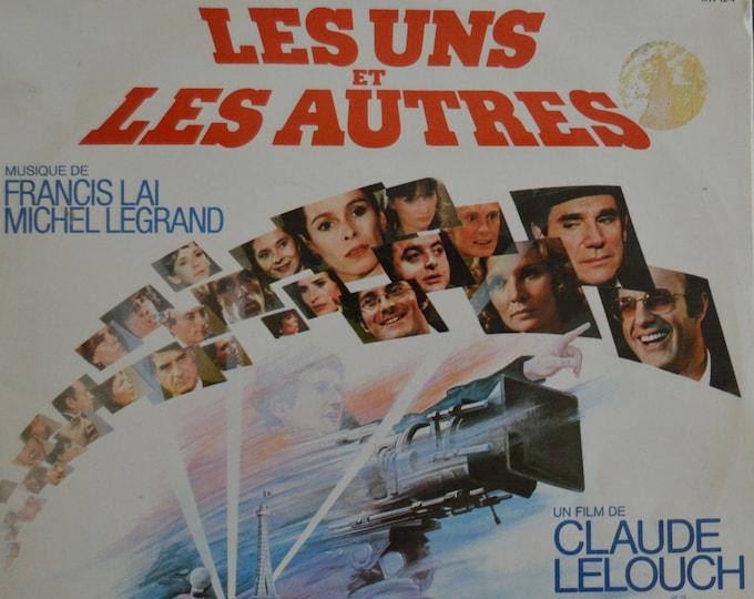 """Les uns et les autres (1981) Soundtrack, original vinyl album, 12"""" vinyl 2-LP"""