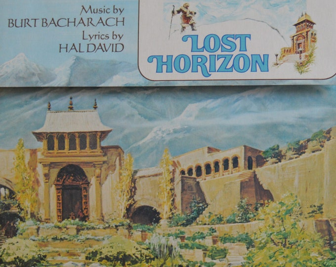 "Lost Horizon Original Soundtrack, Original Vinyl Record, 12"" Vinyl LP"