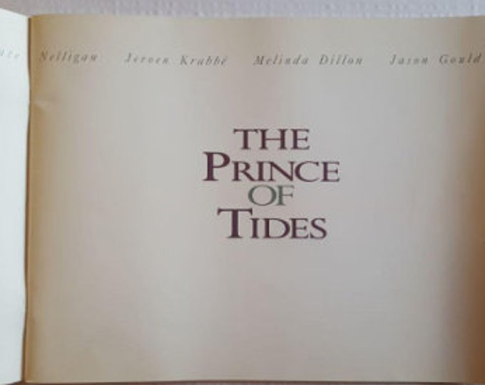The Prince of the Tides (1991) American original advertising Guide