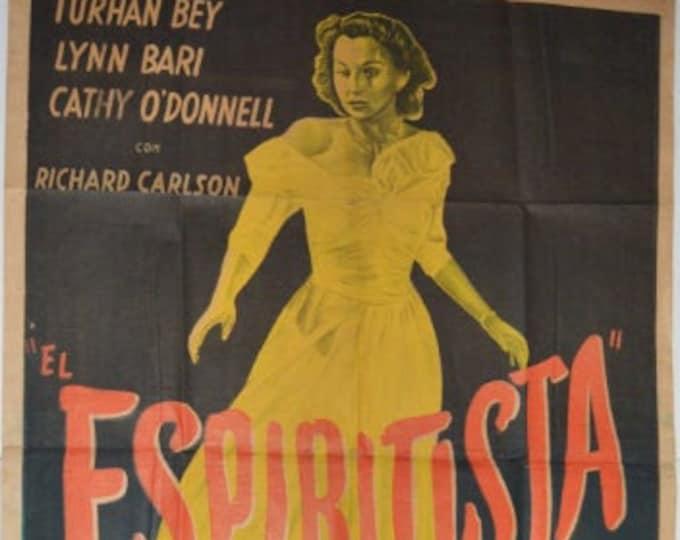 THE SPIRITIST (1948) with Richard Carlson. Original movie poster.
