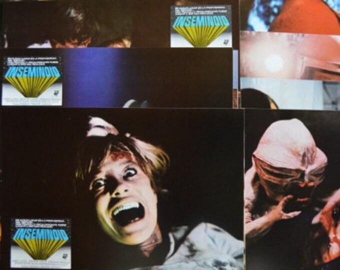 Inseminoid ( 1981). Set de 12 lobby cards originales.