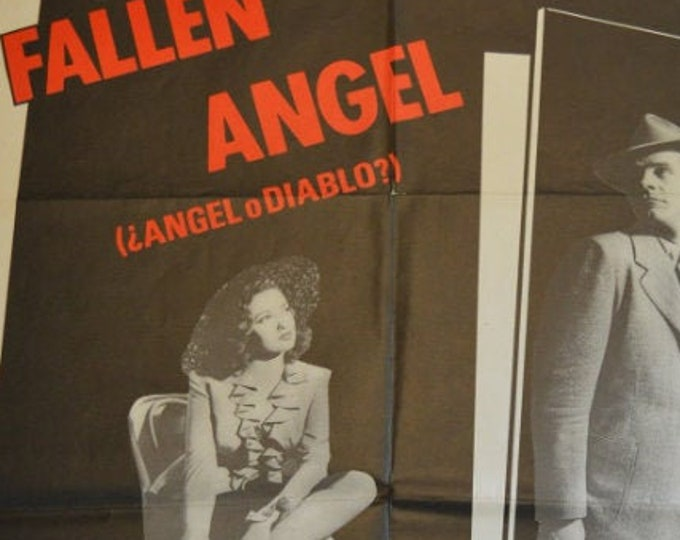 Fallen Angel (1945) . Revival film poster in 1989.