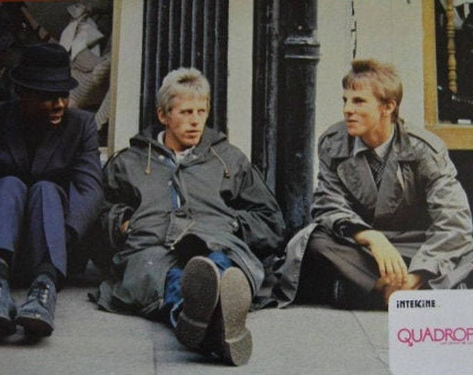 Quadrophenia ( 1979). Set of 4 Spanish lobby cards of the premiere in Spain.