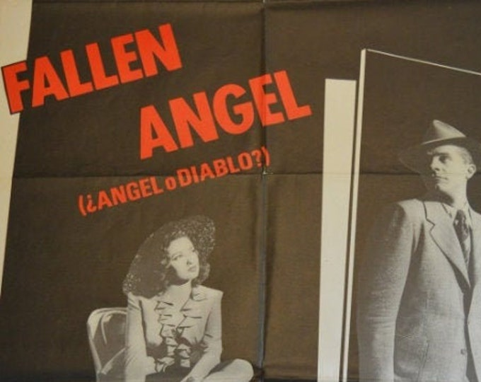 Fallen Angel (1945) . Revival film poster in 1989.