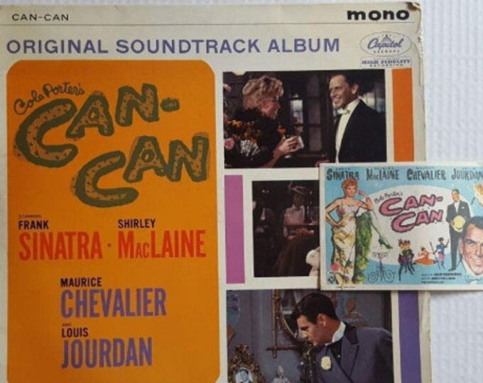 "Vinyl Disc Pack + handbill film ""Can-Can"" (1960)"