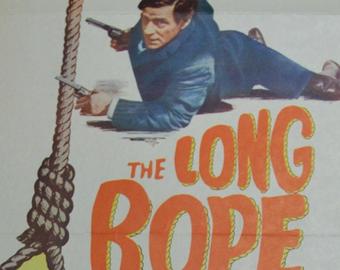 The Long Rope (1961). Original American movie poster.