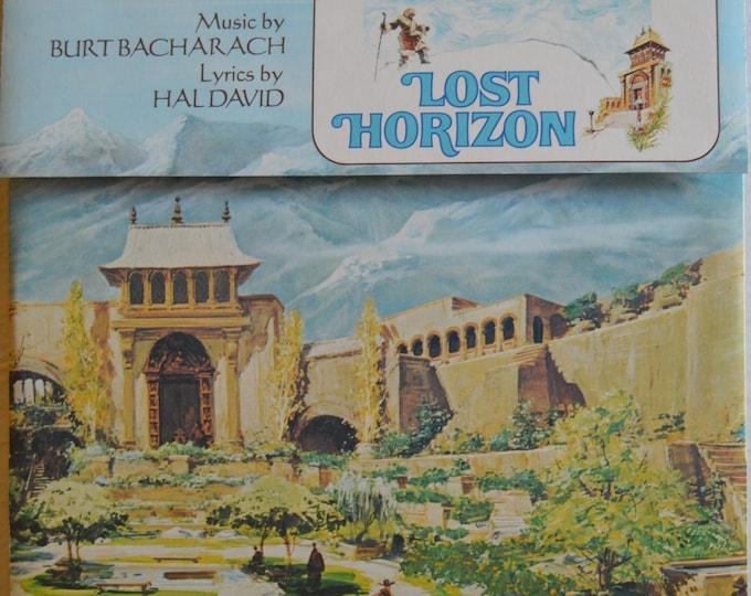 """Lost Horizon Original Soundtrack, Original Vinyl Record, 12"""" Vinyl LP"""