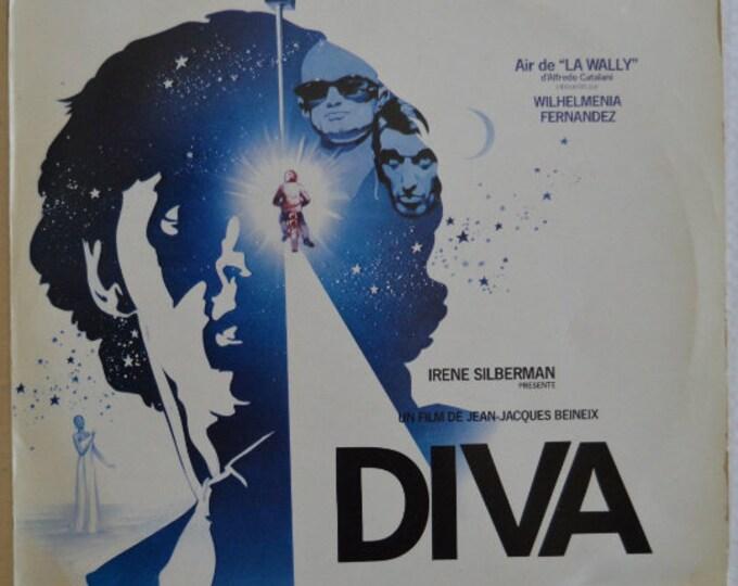 """Diva, original vinyl record (Original Soundtrack), 12"""" vinyl LP (1980)"""