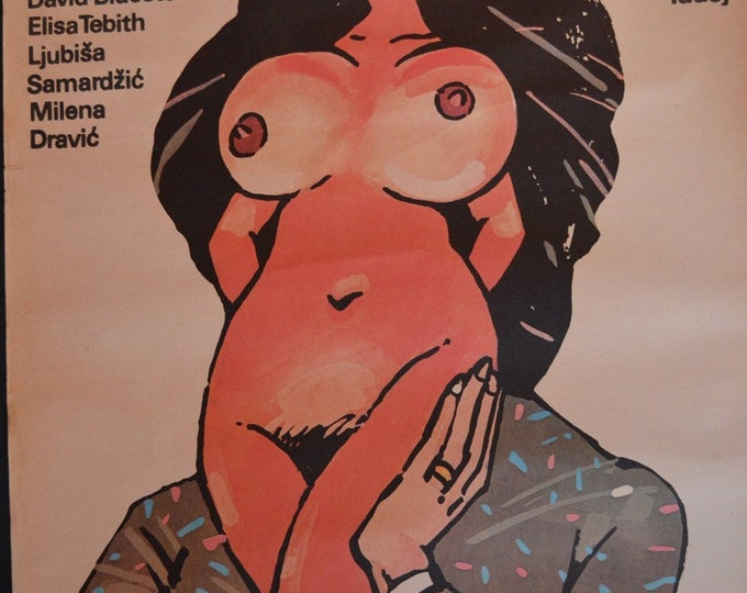Antycasanova (1987). Original Polish poster of the premiere