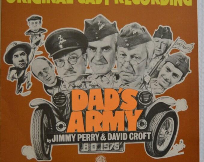 """Dad s Army by Jimmy Perry and David Croft , disco de vinilo original ( Banda Sonora Original), 12"""" vinyl LP (1975))"""