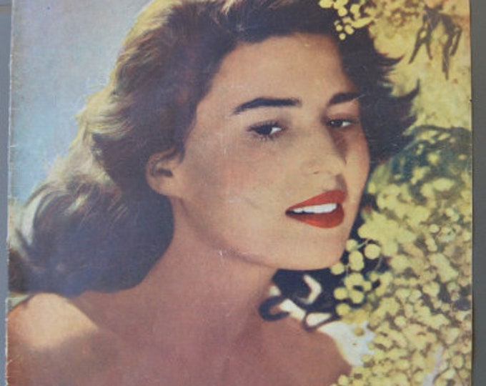 Silvana Manwon, cover of Spanish magazine (1950)