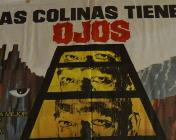 The Hills Have Eyes (1977) Wes Craven. Original Poster Pack plus 12 original spanish lobby cards from the Spanish premiere film
