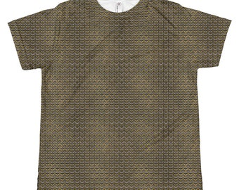 67ec225b Chainmail All-over youth sublimation T-shirt
