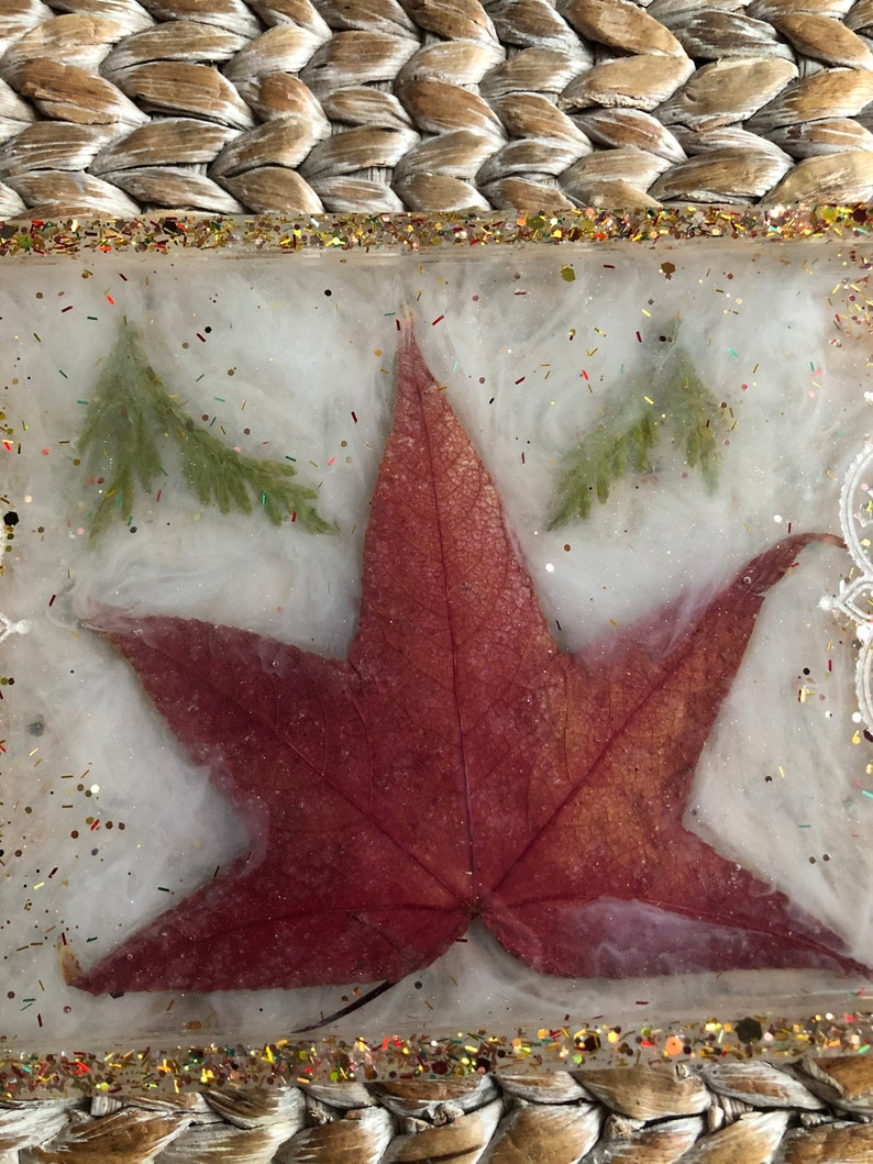 Fall Leaf Big Tray