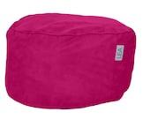Rose Pink Nuzzle Nest Ottoman