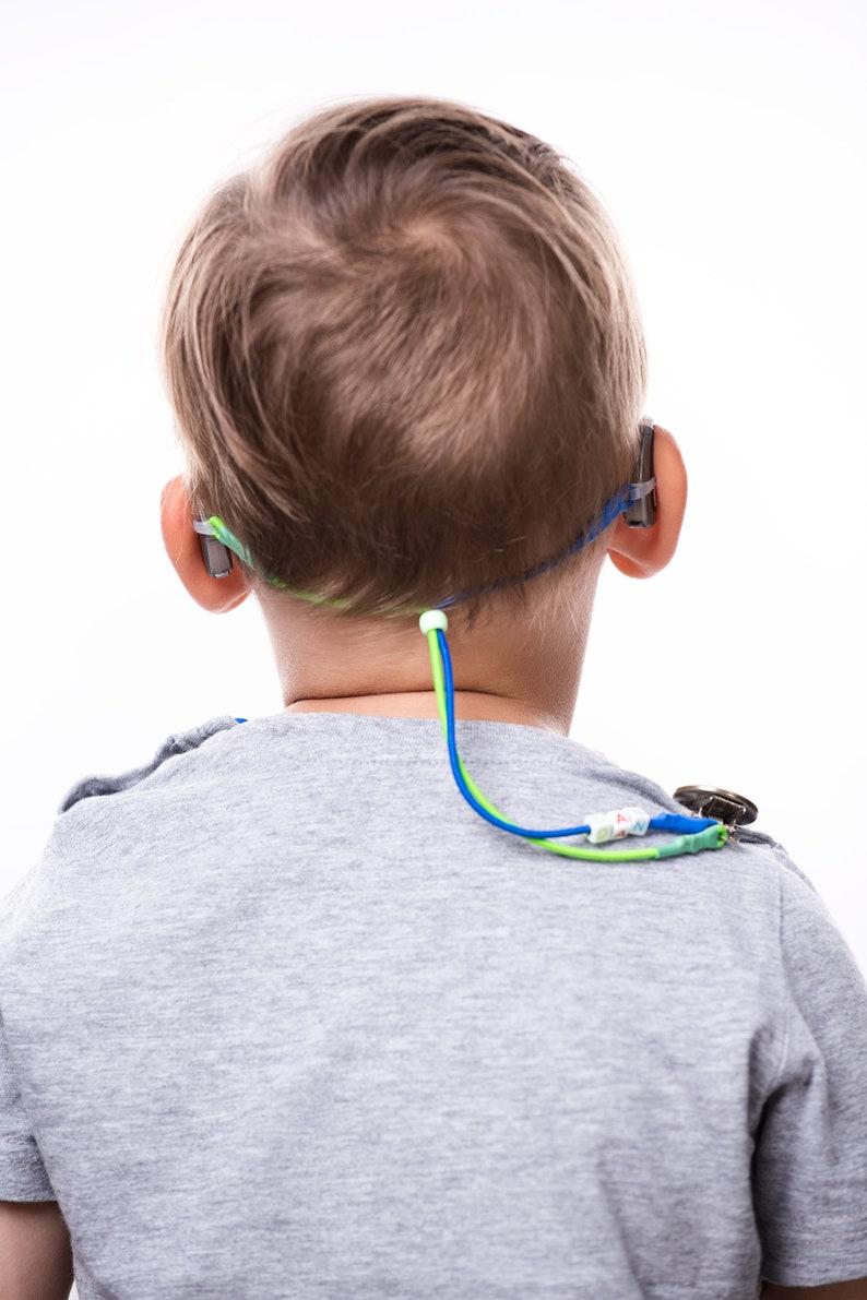 Children Safety Restraint Clips On Hearing Aids Monkey I