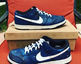 the latest 0e3ac 53b43 Custom Galaxy Nike SB Dunks