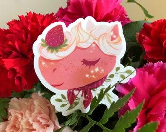 Merengue Translucent Animal Crossing Sticker