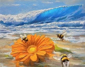 CUSTOM SEASCAPE, Original Painting, Waves Art, Housewarming Gift, Birthday, Thank You Present, Ocean Painting, Seascapes, Oil Painting