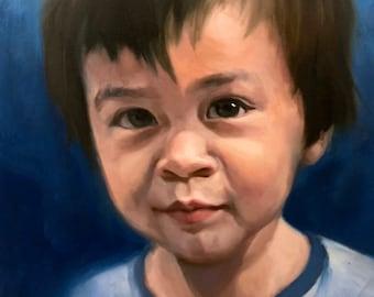 CUSTOM PORTRAIT, Portrait Picture, Painting, Portrait Painting, Drawing, Illustration, Artwork, Oil Painting, Drawing, Keepsake Memory