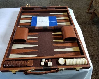 Backgammon case | Etsy