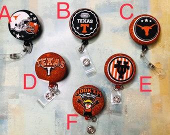University of Texas Longhorns Badge Buddy