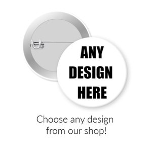 Team Rocket Logo 1 or 1.5 inch button or magnet pick one white or black
