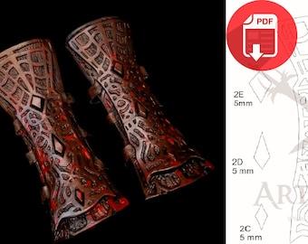 BloodBorne - Hunter Arm Armor (Pattern)