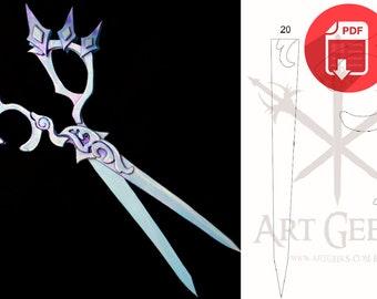 Gwen - Scissors - League of Legends (PATTERN)