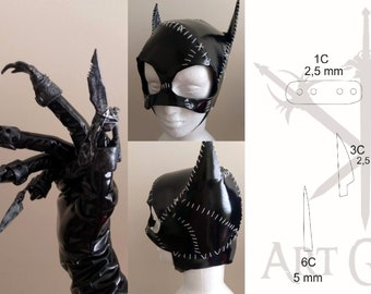 CatWoman - Gloves and Mask - Batman Returns (PATTERN)