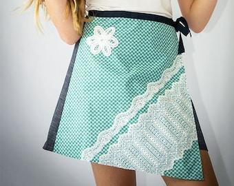 Ruby girl's wrap skirt