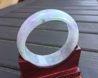 Certified Type A Yu Bangle Grade A Green Beads Bangle Bracelet 13mm/ Strand Bracelets