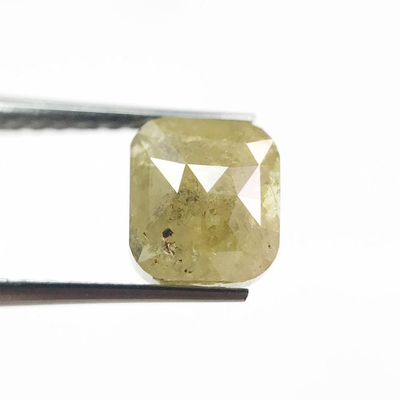 Real diamond Wedding Ring Diamond Yellow Color Diamond 100/%Natural Diamond Best Price Diamond kv-1 Emerald Shape Diamond