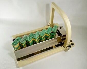 Soap cutter / Soap cutter single wire /  Metal soap cutter ( beige color)