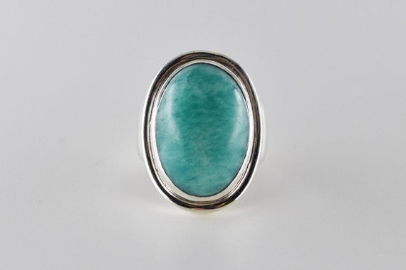 Georg Jensen Ring, Rare Aventurine Sterling Silver