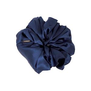 TARONI Silk Scrunchie Nautical Babe Designer luxury silk Scrunchie.