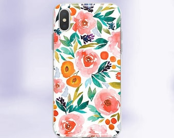 the latest a568b 6fff5 Iphone xr case floral | Etsy