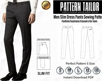 753a2ad7 Mens trousers pattern