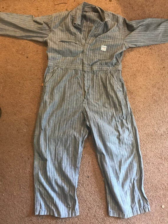 vintage Hercules Nation-ALLS Coveralls -  workwear