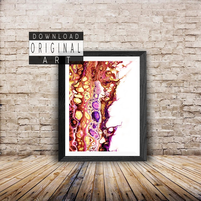 graphic relating to Printable Mural titled Do it yourself poster printable, wall artwork example, mural photograph poster, summary poster, summary shade poster, summary wall Deco