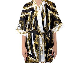 44d7104dfd8 Gianni Versace Inspired Kimono Robes